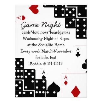 Domino Aces Personalized Invites