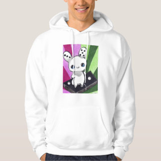Domino Bunny Hooded Pullover