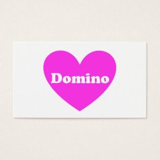 Domino Business Card