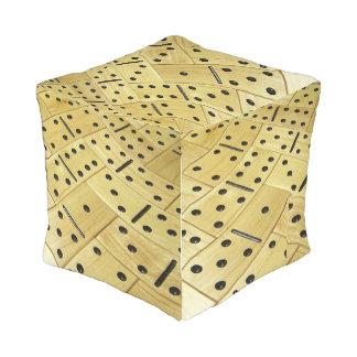 Domino cube pouf