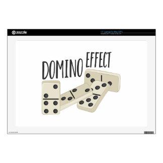 Domino Effect Laptop Skin