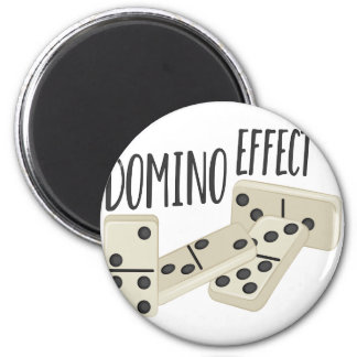 Domino Effect Magnet