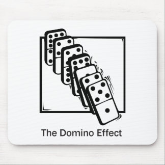 Domino Effect Mouse Pad