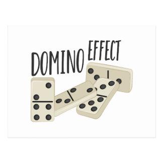 Domino Effect Postcard