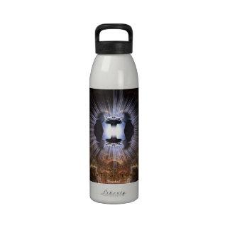 Domino - el crepúsculo de la botella de agua de la