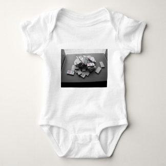 Domino Fraction Baby Bodysuit