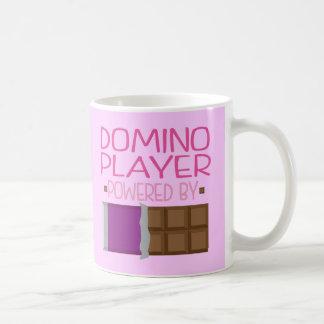 Domino Player chocolate Gift for Her Coffee Mug