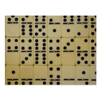 domino postcard