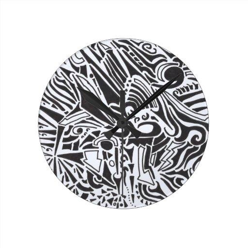 Dominó Reloj De Pared