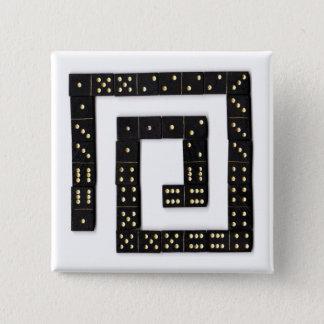 Domino Spiral Button