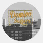 Domino Sugars Baltimore Classic Round Sticker