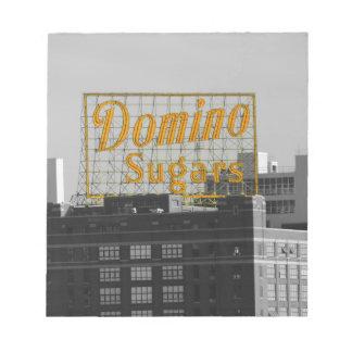 Domino Sugars Baltimore Memo Note Pad