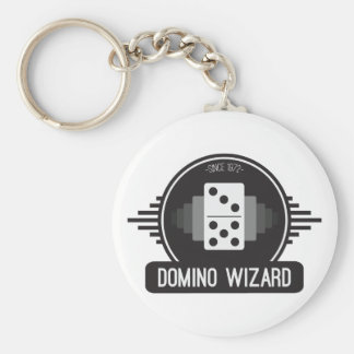 Domino Wizard Official Button Keychain