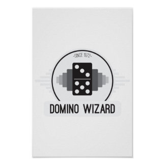Domino Wizard Official Logo Poster