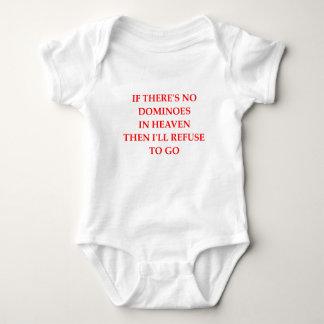 dominoes baby bodysuit