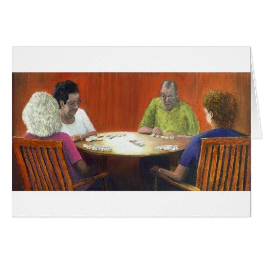 Dominoes Card