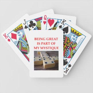 dominoes card decks
