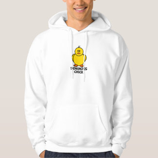 Dominoes Chick Hooded Pullover