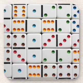 Dominoes coasters