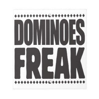 Dominoes Freak Scratch Pad