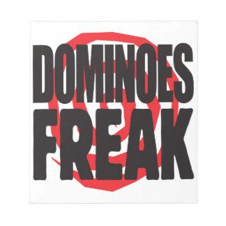 Dominoes Freak Memo Note Pads