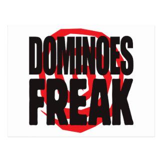 Dominoes Freak Postcard