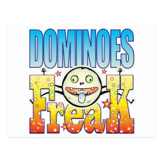 Dominoes Freaky Freak Postcard