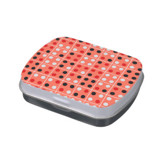 Dominoes Jelly Belly Candy Tin