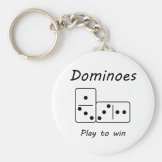 Dominoes Key Chains