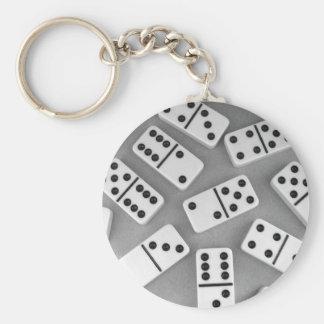 Dominoes Keychain 002