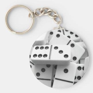 Dominoes Keychain 006