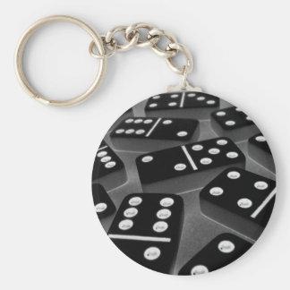 Dominoes Keychain 008
