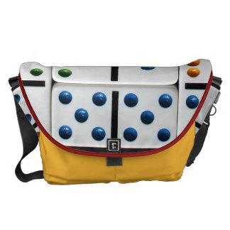 Dominoes Lg. Messenger Bag (with gigantic print)