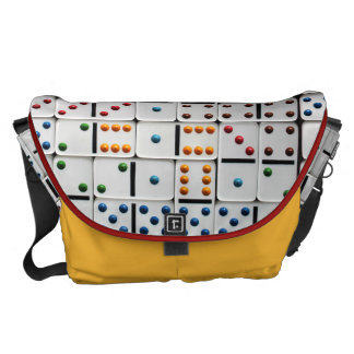 Dominoes Lg. Messenger Bag (with small size print)