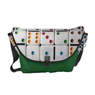 Dominoes Medium Messenger Bag (medium size print)