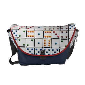Dominoes Medium Messenger Bag (small size print)