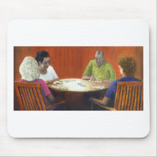 Dominoes Mouse Pad