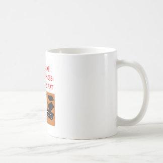 dominoes classic white coffee mug