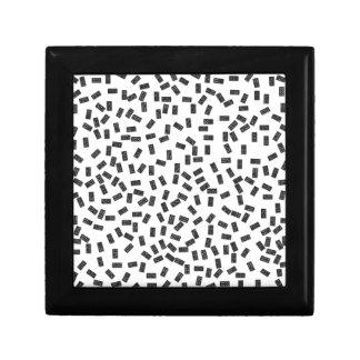 Dominoes on White Keepsake Box