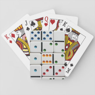 Dominoes playing cards