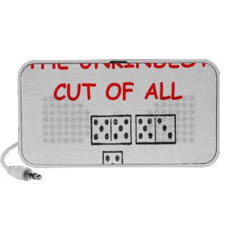 dominoes travelling speaker