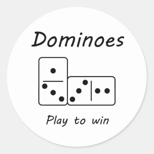 Dominoes Stickers