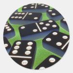Dominoes Stickers 007