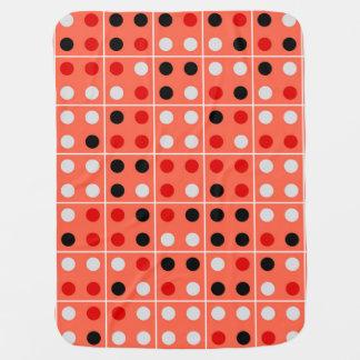 Dominoes Stroller Blanket