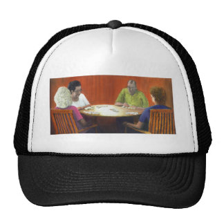 Dominoes Trucker Hat