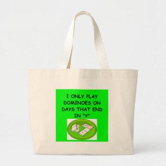 DOMINOESgifts t-shirts Large Tote Bag