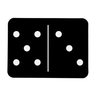 Dominos Game Piece Magnet