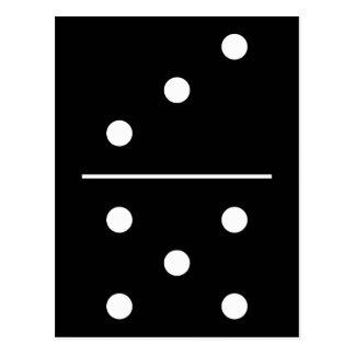 Dominos Game Piece Postcard