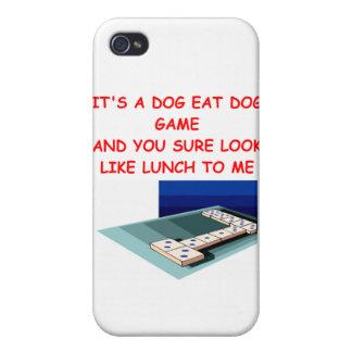 dominós iPhone 4/4S carcasas