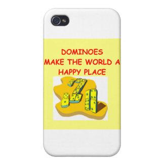 dominós iPhone 4 carcasa